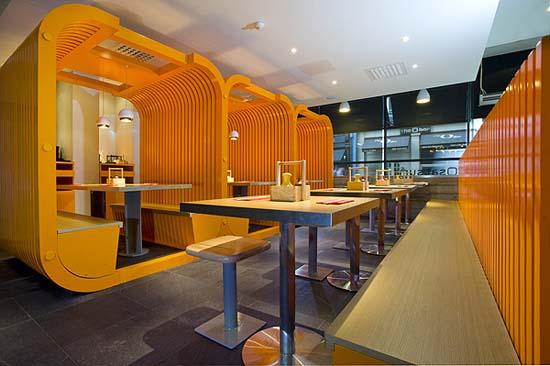 日本餐厅satsuma室内设计 man & man