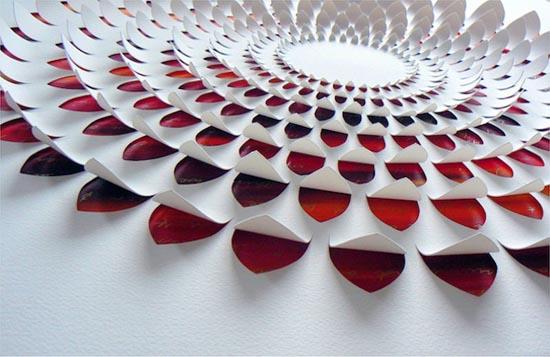 剪纸艺术中的高雅创作设计欣赏 lisa rodden