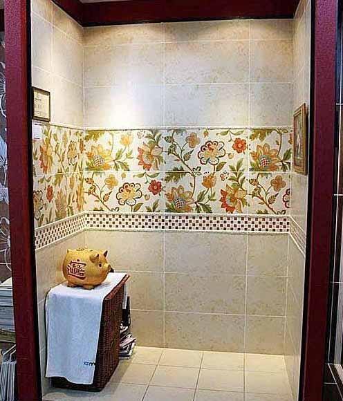 家居室内装修 8款卫浴瓷砖铺贴效果