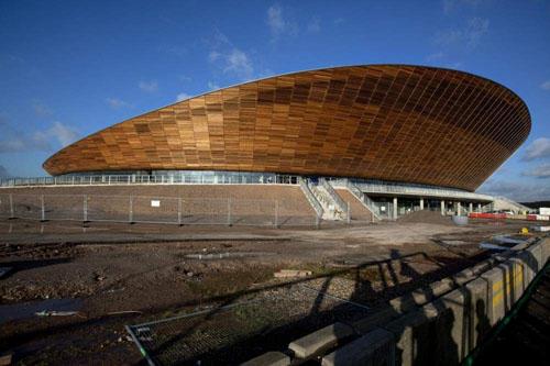 体育馆设计欣赏:2012伦敦奥运会的自行车场馆