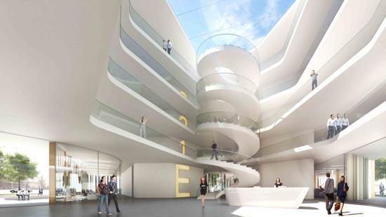 建筑设计:德国埃尔兰根行政办公楼