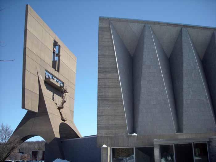 建筑设计:圣约翰修道院教堂