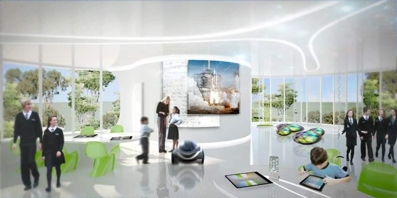 学校设计欣赏:墨尔本未来教室
