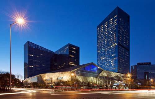 酒店设计欣赏-金茂北京威斯汀大饭店