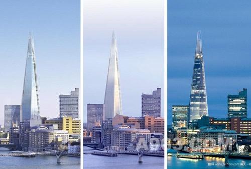 建筑设计欣赏:伦敦碎片大厦
