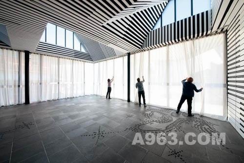 公共空间设计欣赏:巴拉瑞特画廊附属设施