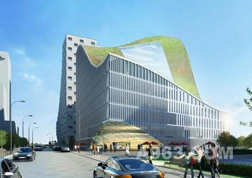 建筑设计欣赏 杭州波浪屋顶