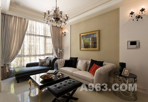 简约且华丽 欧式风格室内装饰设计欣赏