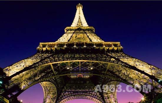 建筑设计欣赏——法国巴黎埃菲尔铁塔