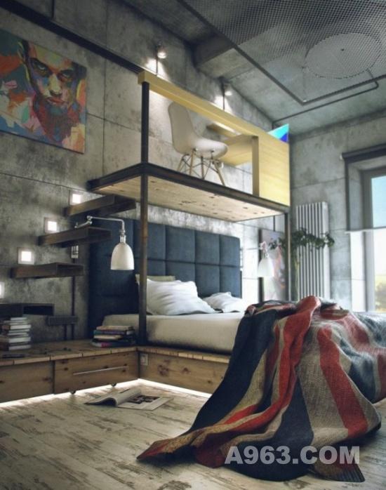 创意设计欣赏:个性loft自由loft