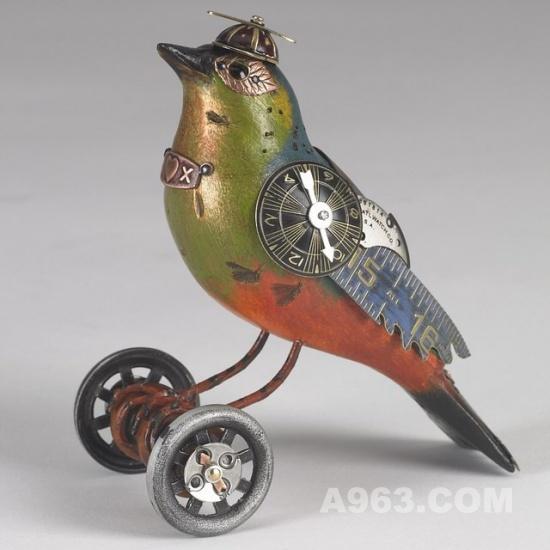 机械鸟设计欣赏 mullanium 工作室