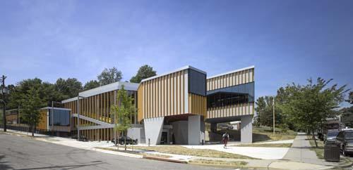 美国贝尔维尤市图书馆设计欣赏