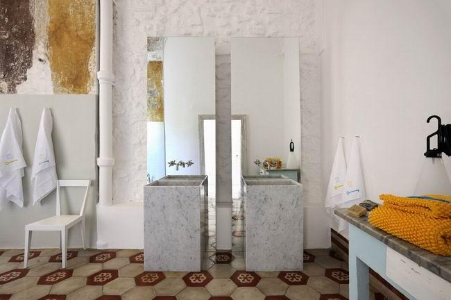 室内设计:意大利清新朴素的小型酒店