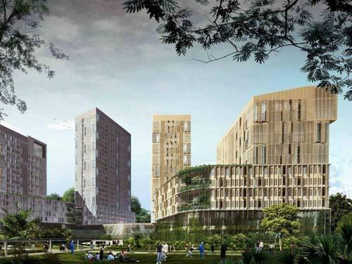 伊朗军队高层住宅综合大楼效果图设计欣赏 设计前沿 资讯