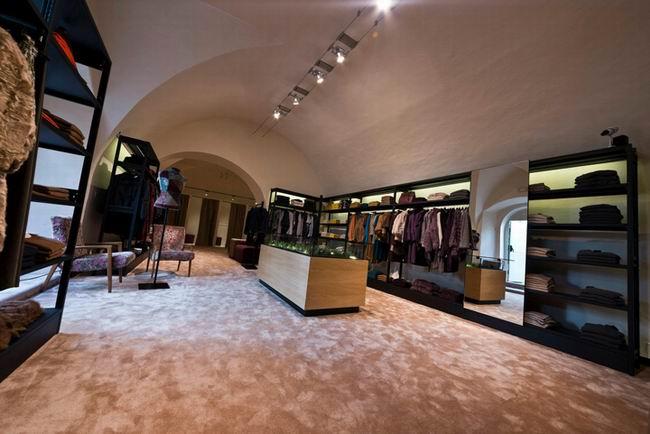 室内设计欣赏 意大利 maximilian 专卖店