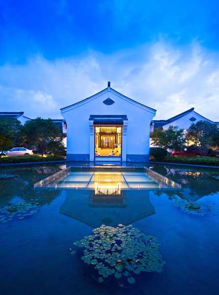 酒店设计欣赏 杭州西溪悦榕庄度假酒店