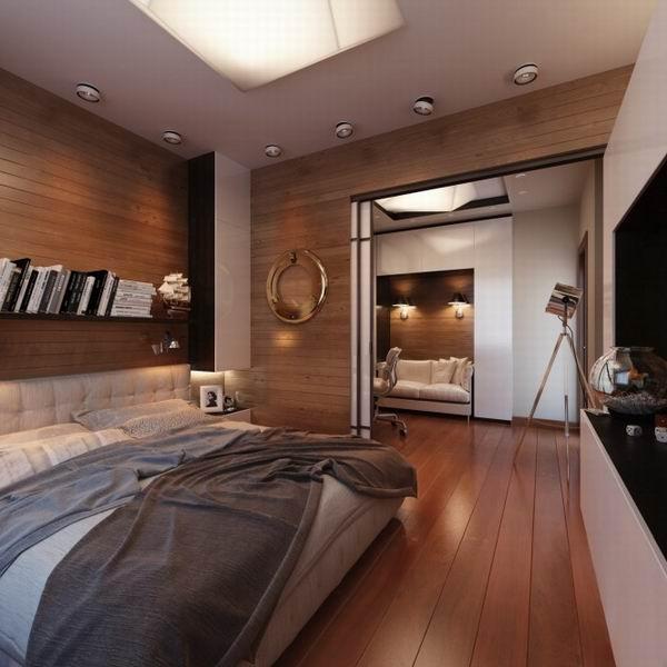 室内设计:另类男士单身公寓