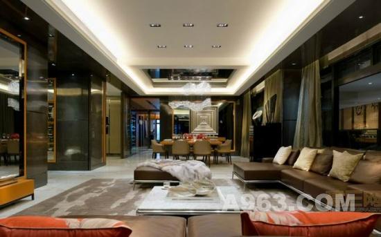 室内装饰设计:港式奢华住宅图片