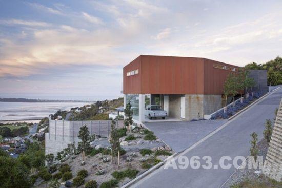 新西兰概念住宅设计欣赏 艺术与自然的完美结合