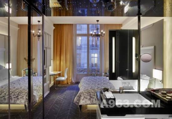 酒店设计欣赏 巴黎歌剧院w酒店