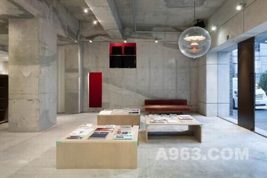 室内设计欣赏:日本特色发廊