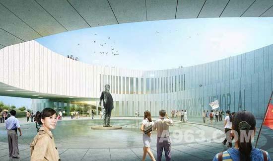 建筑设计:天津萨马兰奇纪念博物馆