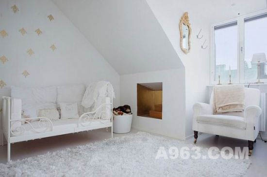 极简白色公寓室内设计 纯色空间的清新诱惑