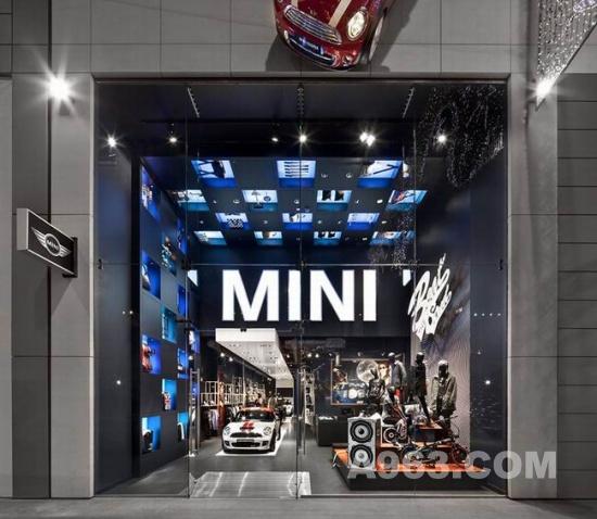 商业空间设计欣赏 伦敦 mini pop-up store