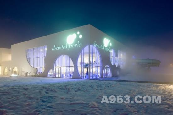 建筑设计效果图欣赏:sipopo会议中心