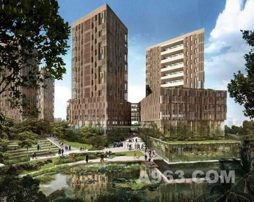 伊朗军队高层住宅综合大楼效果图设计欣赏 高清图片