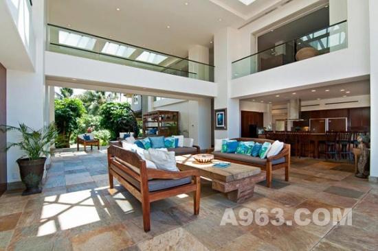 别墅设计:夏威夷豪华度假别墅