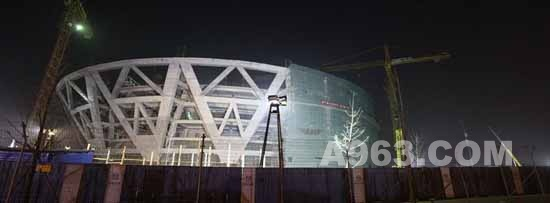 建筑设计:中国国家网球中心