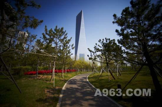 建筑设计:韩国松岛国际商务区