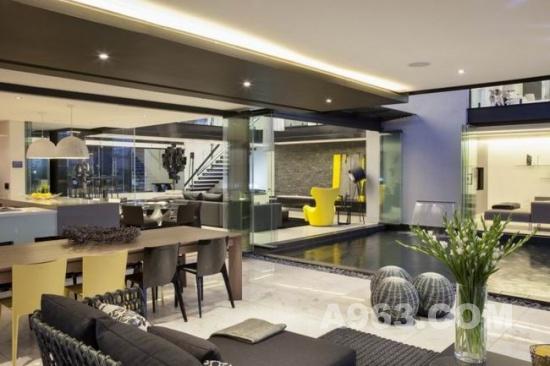 住宅空间设计欣赏 南非米德兰现代住宅