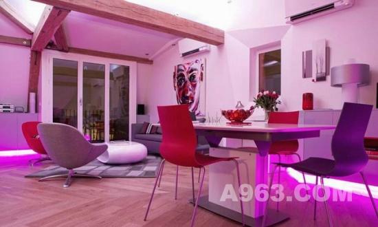 室内设计欣赏 巴黎阁楼