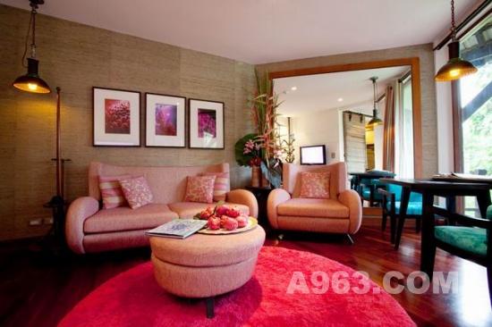 酒店设计:泰国吉普岛五星级indigo pearl 酒店