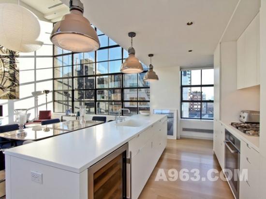 时尚精致的公寓设计:纽约当代复式公寓