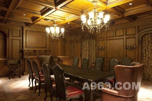 室内设计欣赏 北京东方红酒窖