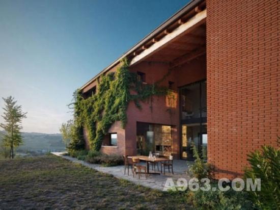 建筑设计欣赏 意大利乡村风格建筑